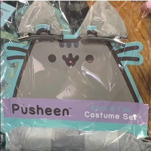 Limited edition pusheen ears and tail